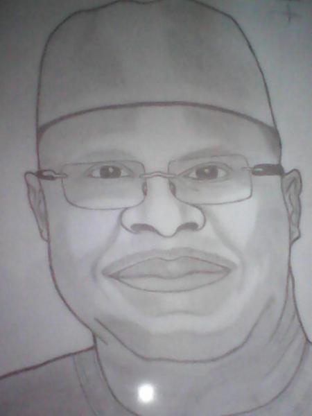 Ibrahim Boubacar Keïta by mourtaladiagne